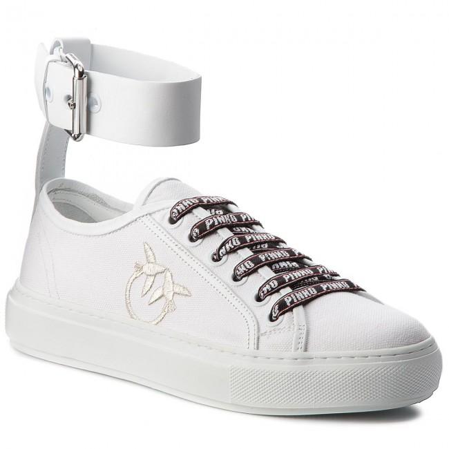 Sneakers PINKO - Mandorla PE18 BLKS1 1H20GC Y4F5 White Z04