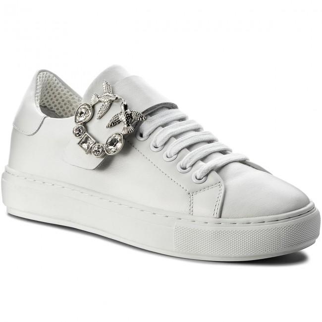 Sneakers PINKO - Astuta PE 18 PBKSH 1P215X Y4L4 White Z04