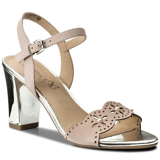 Sandals CAPRICE - 9-28303-20 Rose Waxy Nap 562