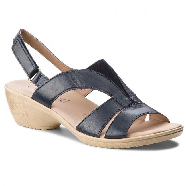 Sandals CAPRICE - 9-28708-20 Ocean Nappa 855