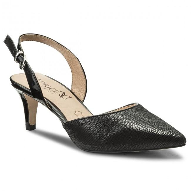 Sandals CAPRICE - 9-29609-20 Black Rep Comb 012