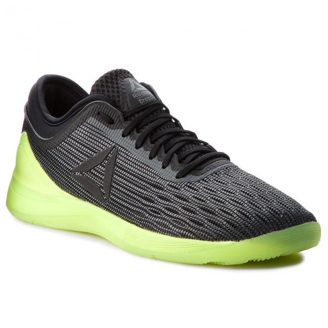 Shoes Reebok - R Crossfit Nano 8.0 CN1034 Alloy/Black/Solar Yellow
