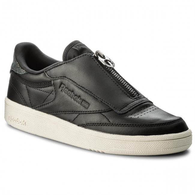 new style discount sale timeless design Shoes Reebok - Club C 85 Zip M CN0140 Black/Chalk