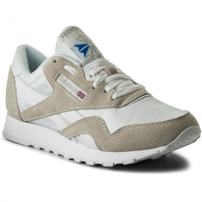 Recepción prosa Redondear a la baja  Shoes Reebok - Cl Nylon 6390 White/Light Grey - Sneakers - Low shoes -  Women's shoes | efootwear.eu
