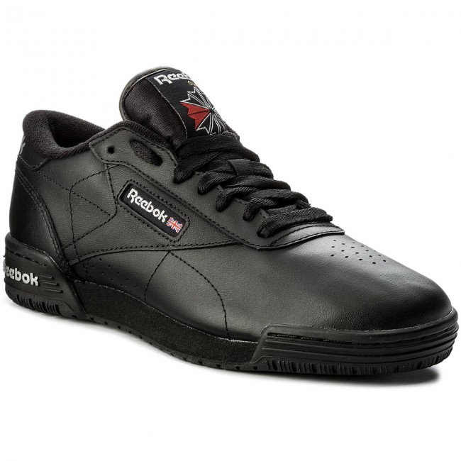 carpintero Empuje hacia abajo presente  Shoes Reebok - Exofit Lo Clean Logo Int AR3168 Int Black/Silver - Sneakers  - Low shoes - Women's shoes | efootwear.eu