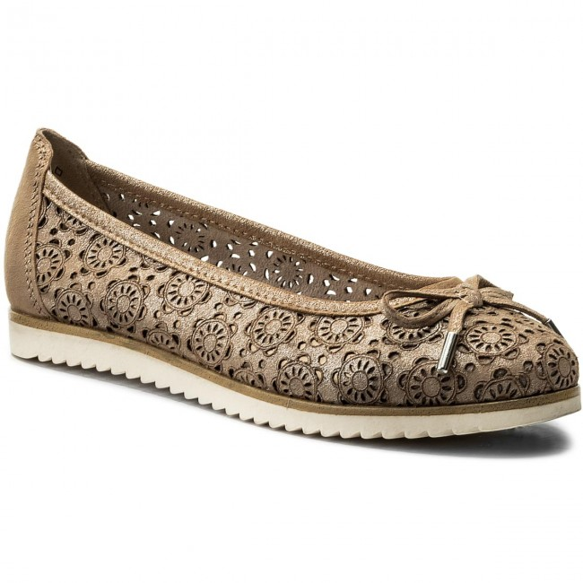 Shoes MARCO TOZZI - 2-22115-20 Dune Metallic 412