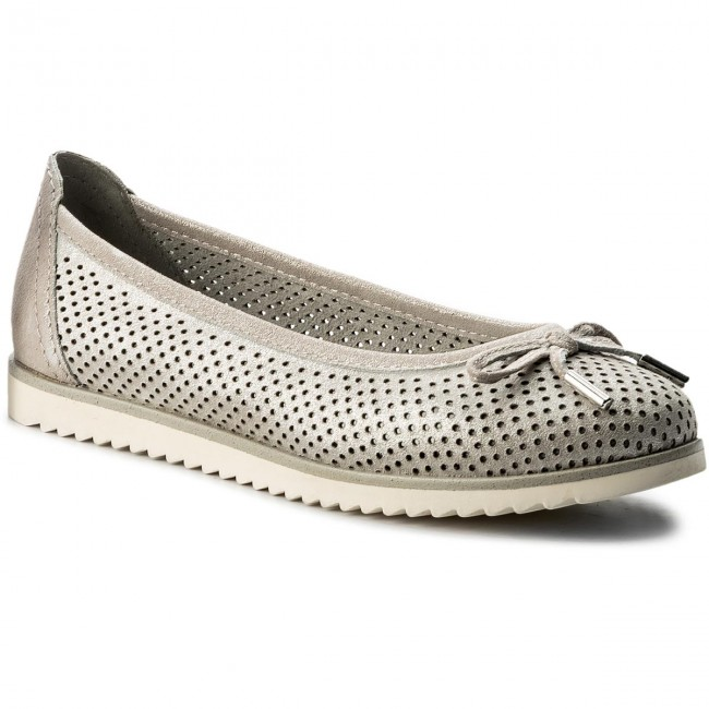 Shoes MARCO TOZZI - 2-22125-20 Lt.Grey Metal. 237