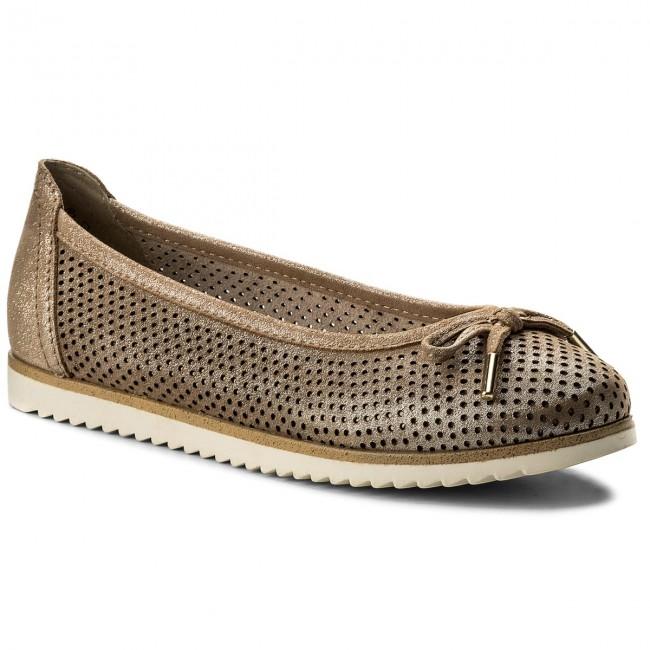 Shoes MARCO TOZZI - 2-22125-20 Dune Metallic 412