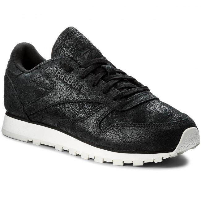 Shoes Reebok Cl Lthr Shimmer BS9856 BlackChalk