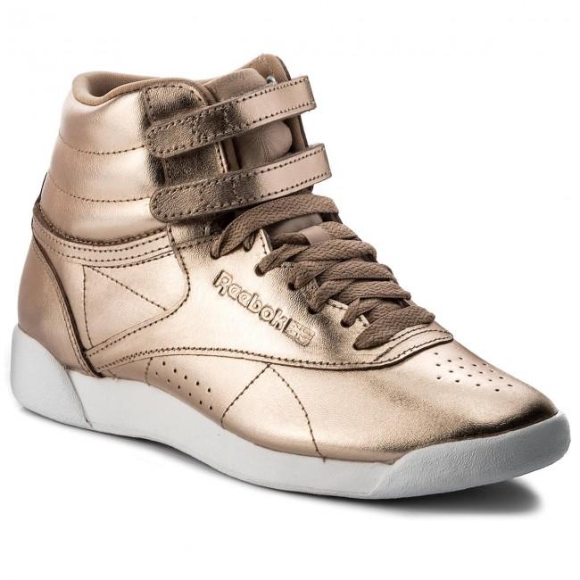 Reebok Women's FS HI Metallic Sneaker