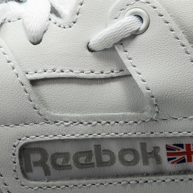 Mens Reebok Workout Low White Grey CN0636
