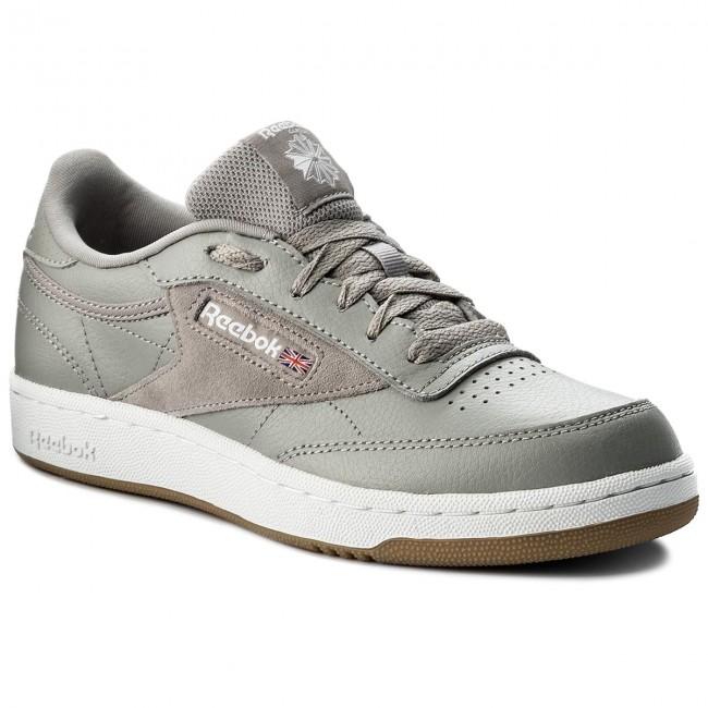 Shoes Reebok - Club C 85 Estl CN1200 Powder Grey/White/Blue