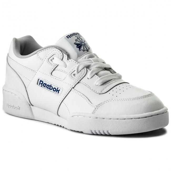 Shoes Reebok - Workout Plus CN1826 White/Steel/Royal