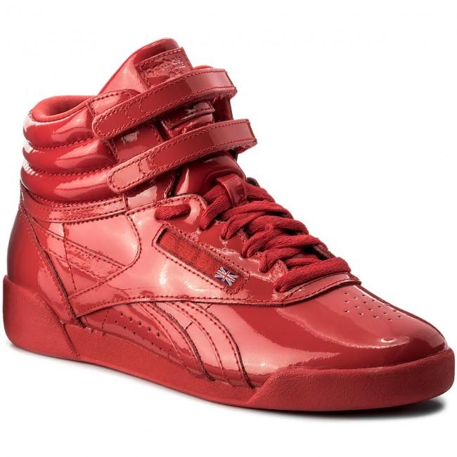 Shoes Reebok - F/S Hi Patent CN2078  Red