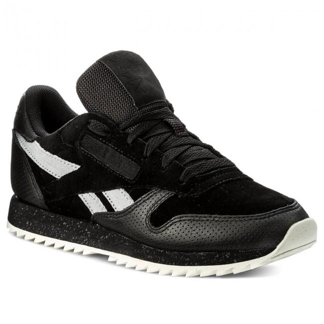 División gris Aproximación  Shoes Reebok - Cl Lthr Ripple Sm BS9726 Black/Cool Shadow/Chalk ...