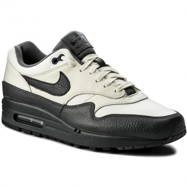 Shoes NIKE Air Max 1 Premium 875844 100 SailDark ObsidianDark Grey