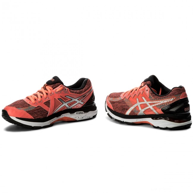 Shoes ASICS GT 2000 4 Lite Show Plasma Guard T6F9N Flash CoralSilverBlack 0693