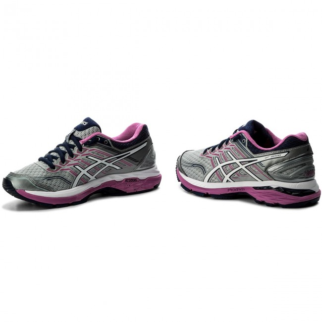 T760N 9601 MID GREY WHITE PINK GLOW WOMEN SHOES SIZE 7 2A ASICS GT 2000 5