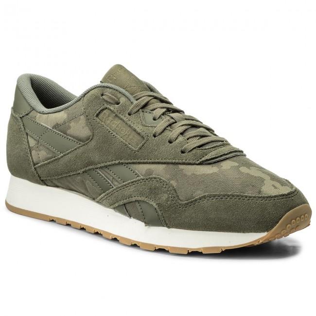 Shoes Reebok Cl Nylon Sg BS9567 Hunter GreenChalk