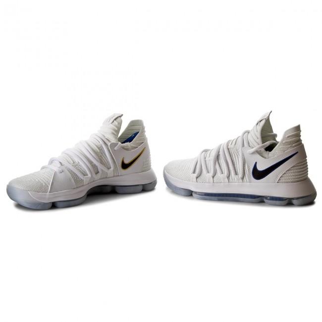 Shoes NIKE Zoom KD10 897815 101 WhiteGame Royal