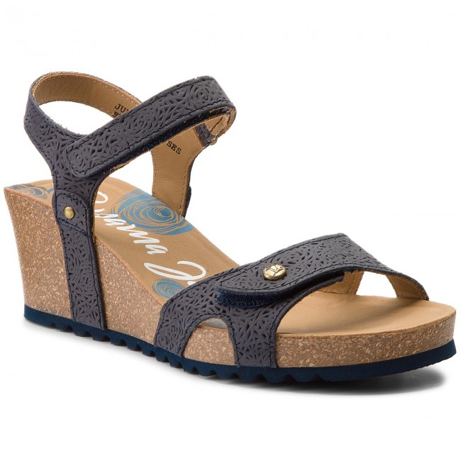 Sandals PANAMA JACK - Julia Roses B2 Napa Grass Marino/Navy
