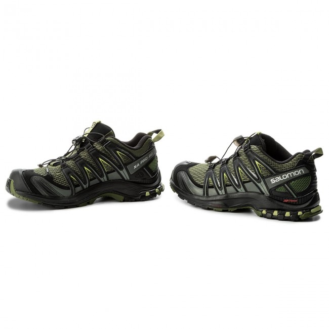 Shoes SALOMON Xa Pro 3D 392519 27 V0 ChiveBlackBeluga Oj1G3