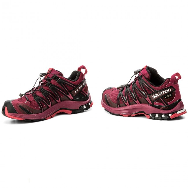 Shoes SALOMON Xa Pro 3D Gtx W GORE TEX 398536 21 V0 Beet zvmY0