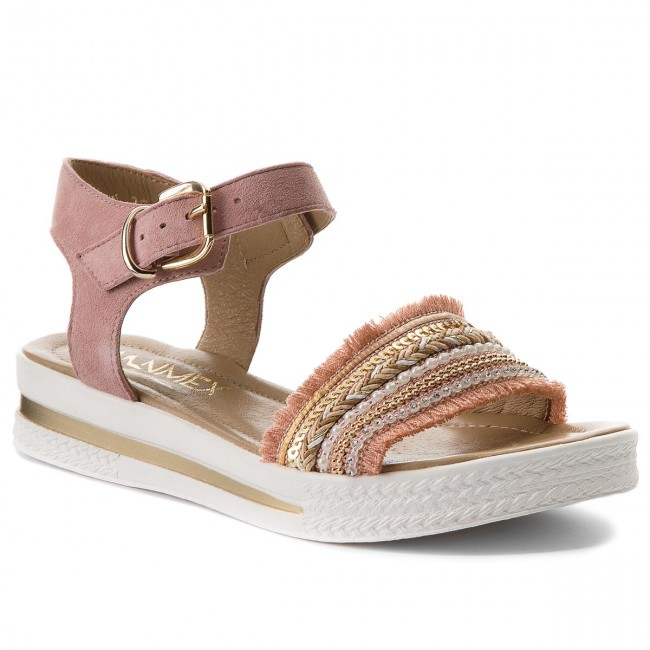 Sandals ANN MEX - 8666 02V+02PS Pink