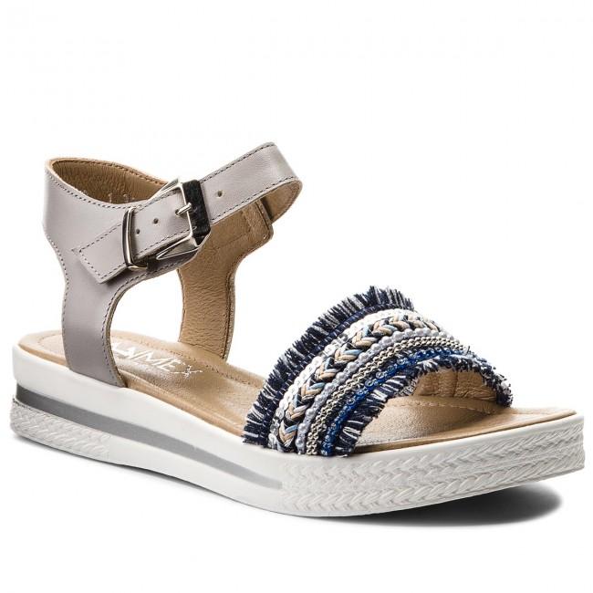 Sandals ANN MEX - 8666 11S+05PS Colourful Grey