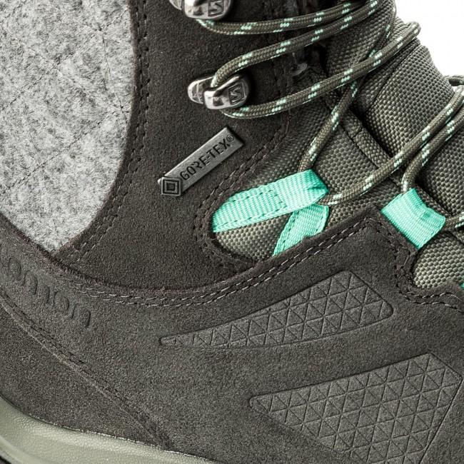 Trekker Boots SALOMON Ellipse Winter Gtx GORE TEX 398550 20 V0 Castor GrayBelugaBiscay Green