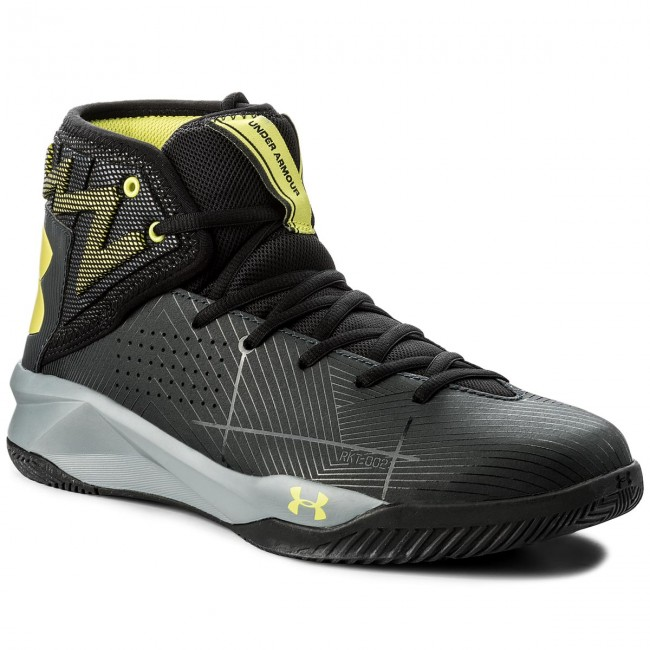 buy popular e85a6 46704 Shoes UNDER ARMOUR - Ua Rocket 2 1286385-016 Ath/Blk/Smy