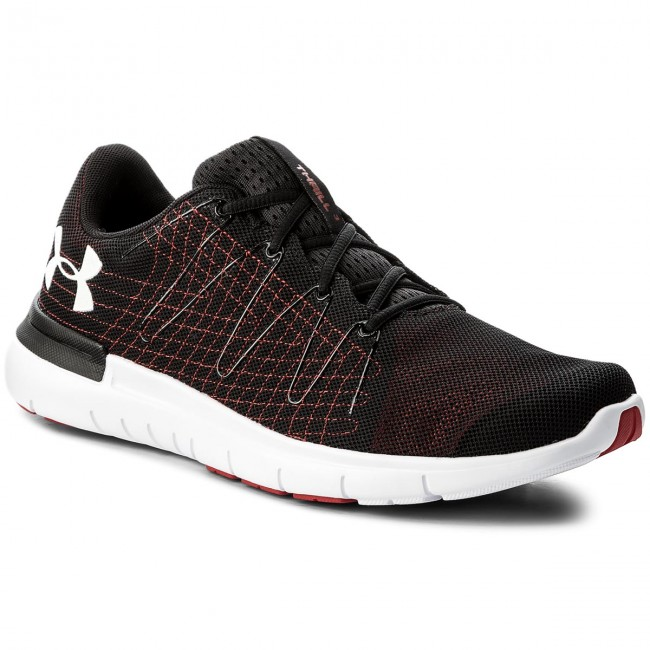 on sale dc910 4a5fd Buty UNDER ARMOUR - Ua Thrill 3 1295736-002 Blk/Red/Wht