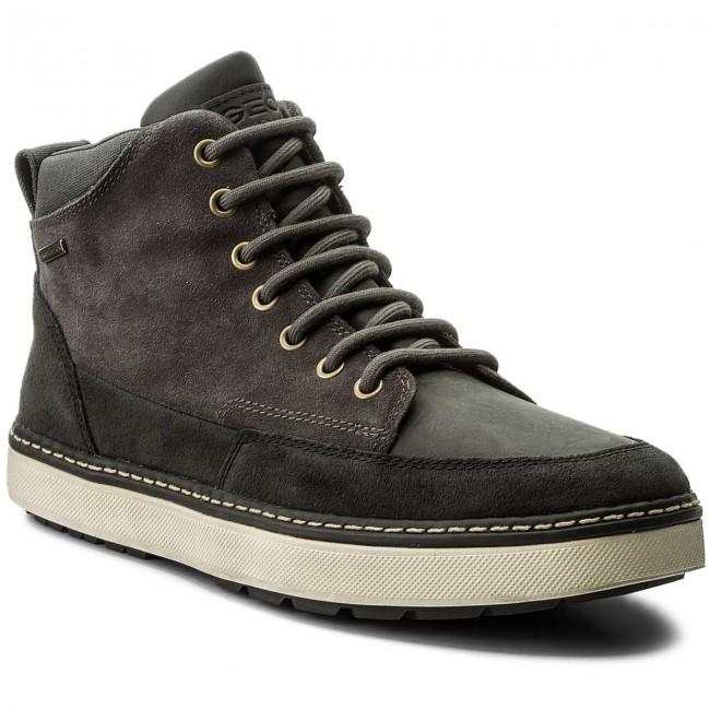 Muestra Mensurable nacionalismo  Knee High Boots GEOX - U Mattias B Abx B U74T1B 02322 C9004 Anthracite -  Jackboots - High boots and others - Men's shoes | efootwear.eu