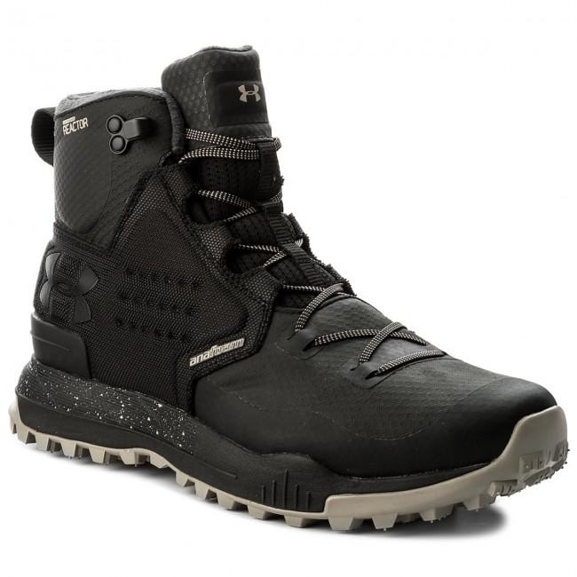 best website 30899 51751 Trekker Boots UNDER ARMOUR - Ua Newell Ridge Mid Reactor 1299188-001  Blk/Att/Blk