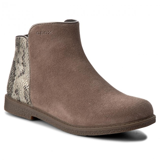 0e5166a6a2607 Boots GEOX - J Shawntel G. D J744ED 022AR C6029 S Taupe - Boots - High boots  and others - Girl - Kids' shoes - efootwear.eu