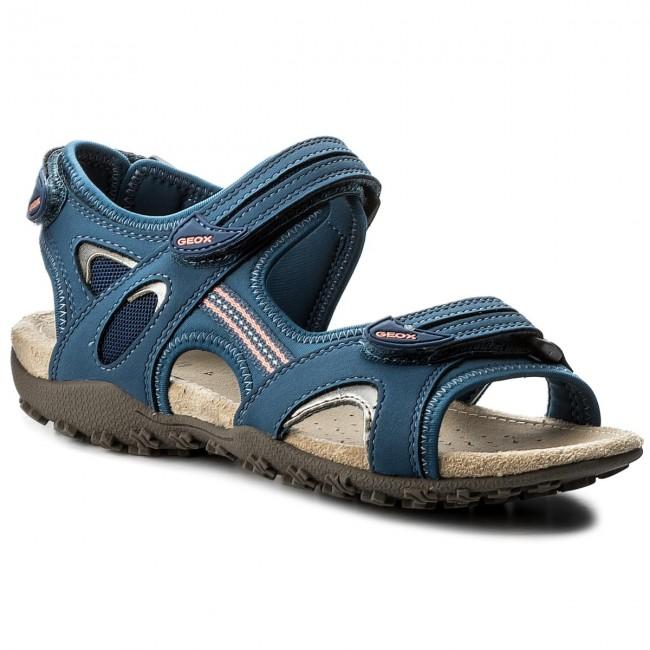 strel 0ek15 Sand C4008 Geox D D1125c C Sandals Denim ikPXZu