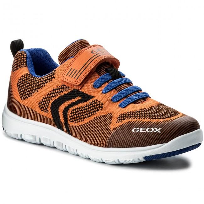 Shoes GEOX J Xunday B.J J743NJ 00011 C0549 D OrangeRoyal AHieK