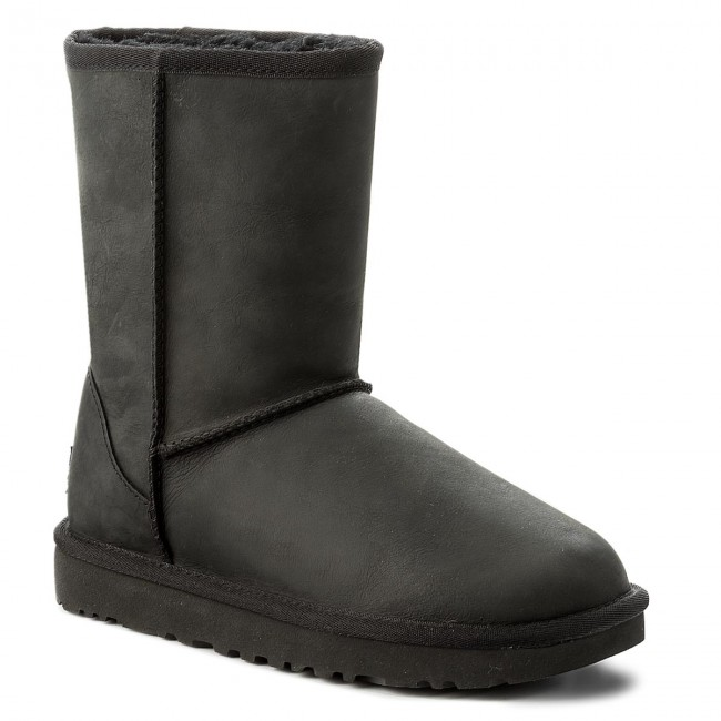 Shoes UGG - Classic Short Leather 1016559  W/Blk
