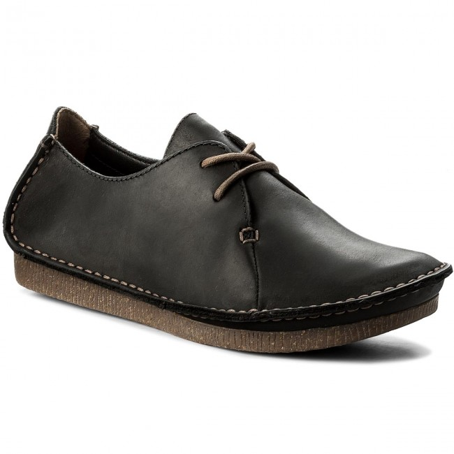 Shoes CLARKS - Janey Mae 261114284  Black Leather