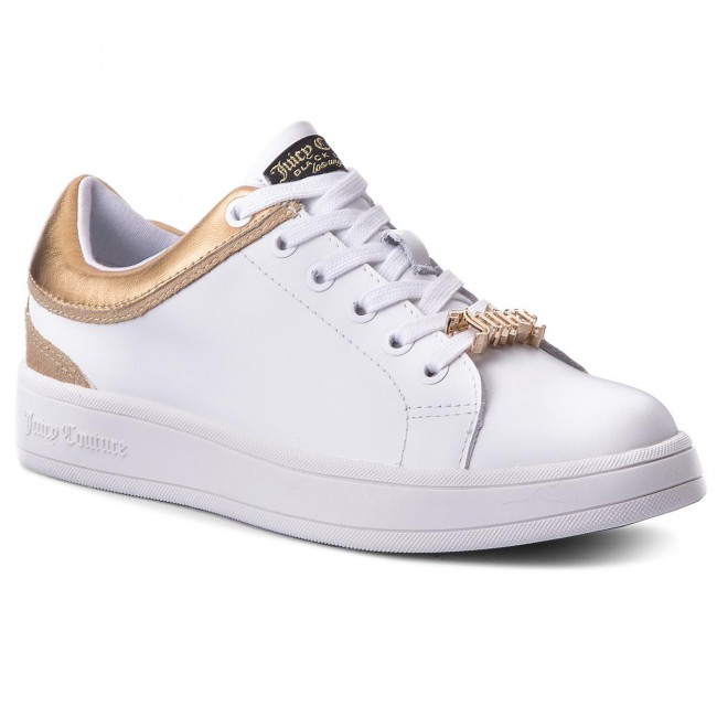 20f5a5ef0db Sneakers JUICY COUTURE BLACK LABEL - Jelly JB159 White/Gold