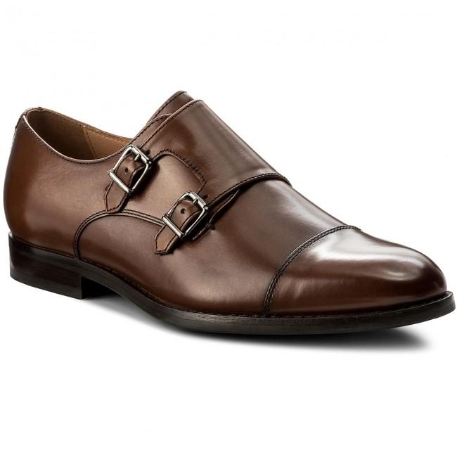 Shoes GEOX - U Hampstead B U74E3B 00043 C6001 Cognac