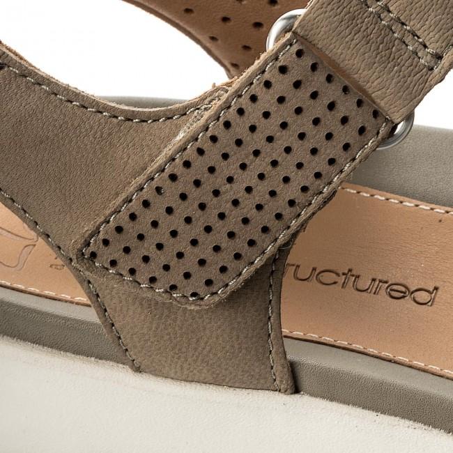 Sandals CLARKS Un Saffron 261249354 Sage Nubuck