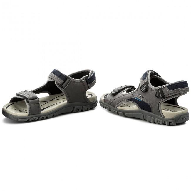 Sandals GEOX U S.Strada Wf C U6224C 000AF C9M4E StoneBlue EVwQZ