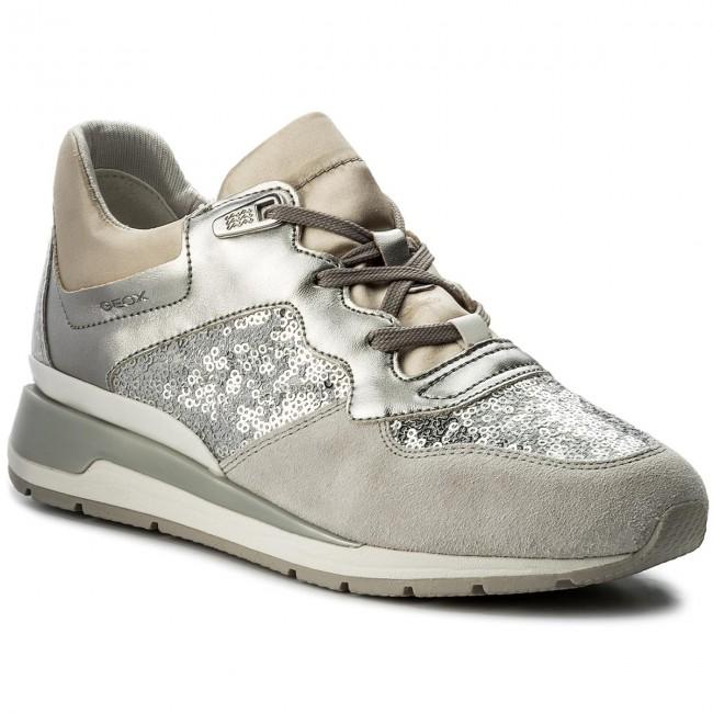 wholesale dealer 05c85 8db99 Sneakers GEOX - D Shahira B D62N1B 0ATAJ C1007 Silver