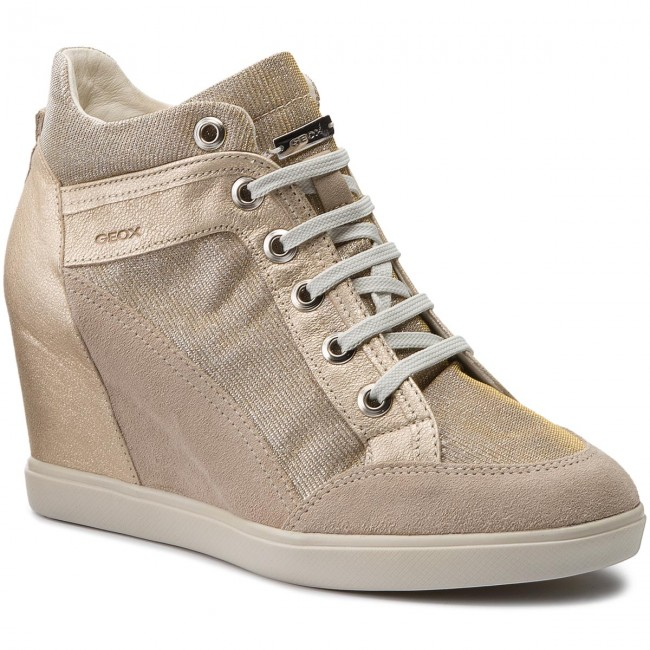 damen Geox ELENI Sneaker high light taupelead