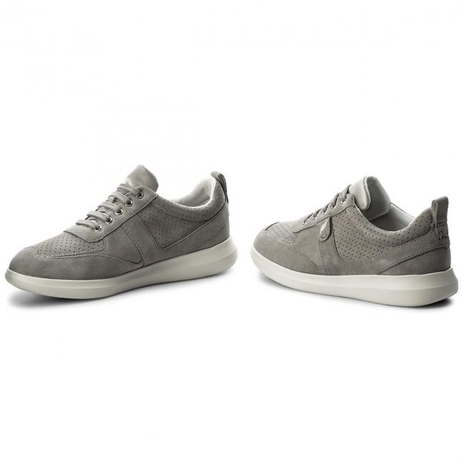 Sneakers GEOX D Gomesia C D828GC 00022 C1010 Lt Grey