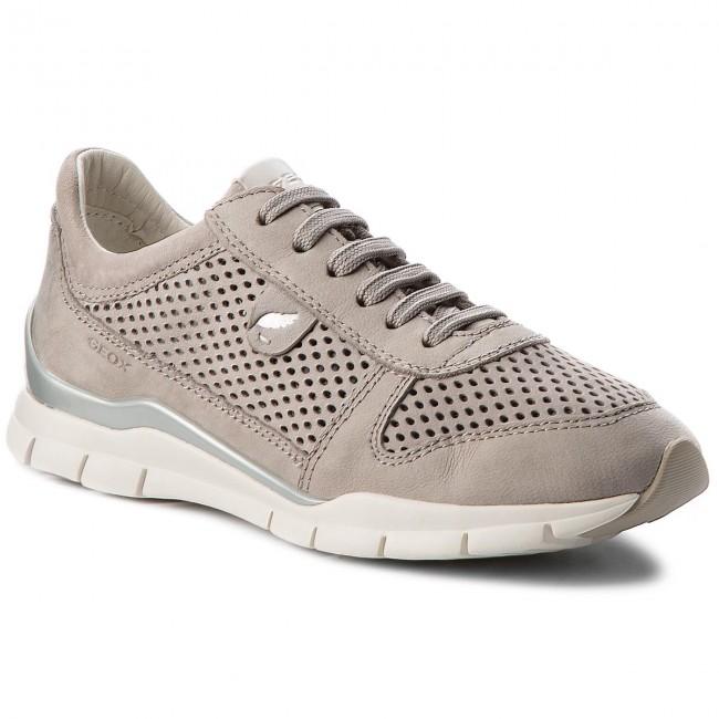 Biblia Porque Pensamiento  Sneakers GEOX - D Sukie F D62F2F 000LT C1010 Lt Grey - Sneakers - Low shoes  - Women's shoes | efootwear.eu