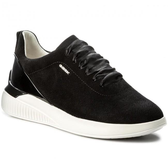 Sneakers GEOX D Theragon C D828SC 022HH C9999 Black hMU0l
