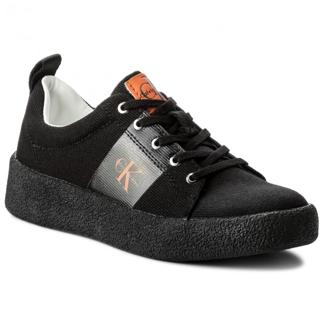 100% автентичен качествен дизайн добра текстура Sneakers CALVIN KLEIN JEANS - Gala R8783 Black - Sneakers - Low ...