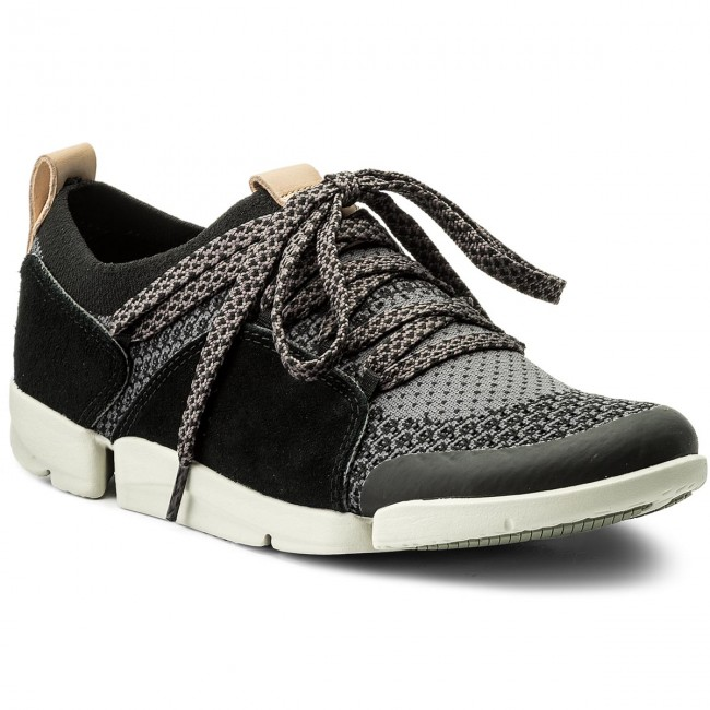 Shoes CLARKS Tri Amelia 261310924 Black Combi